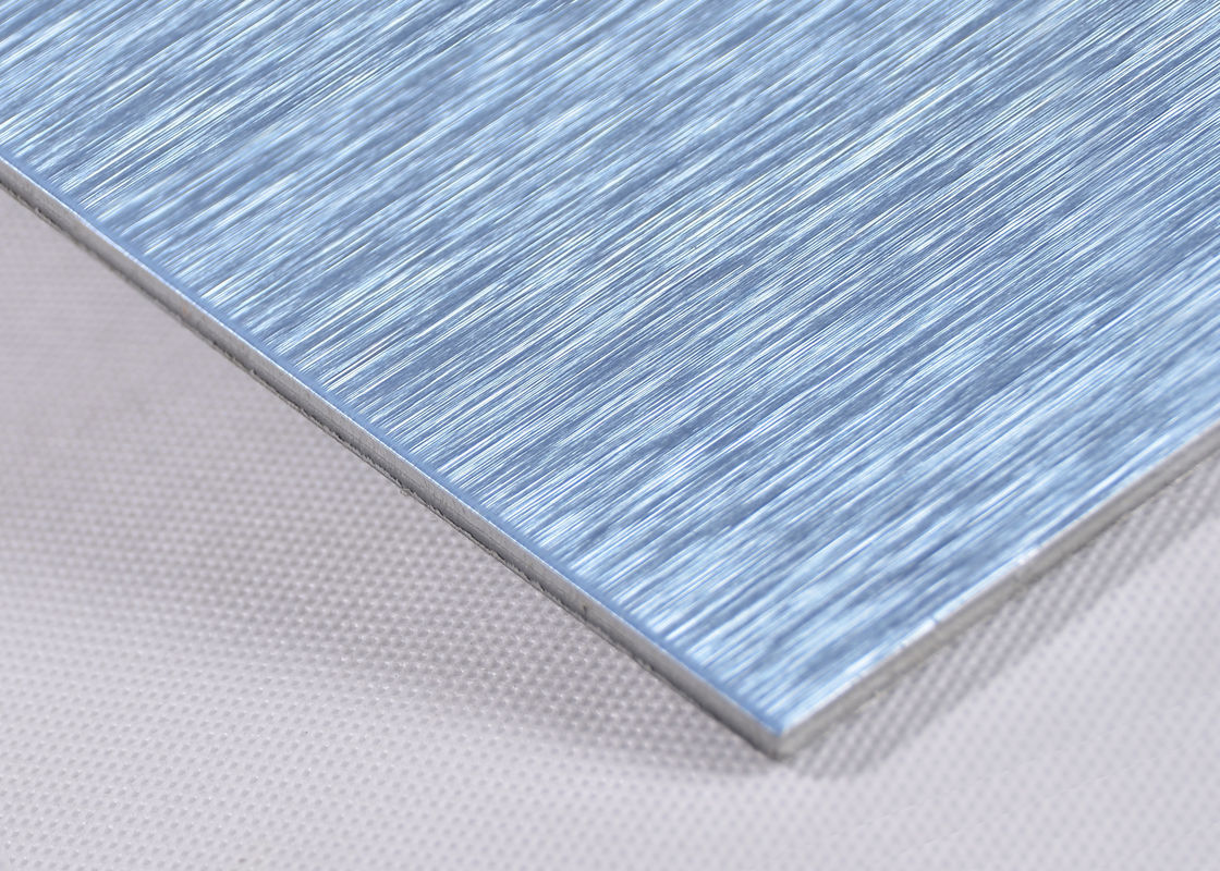 Anti-Static Brushed Aluminum Composite Panel With 3mm Aluminium Sheet