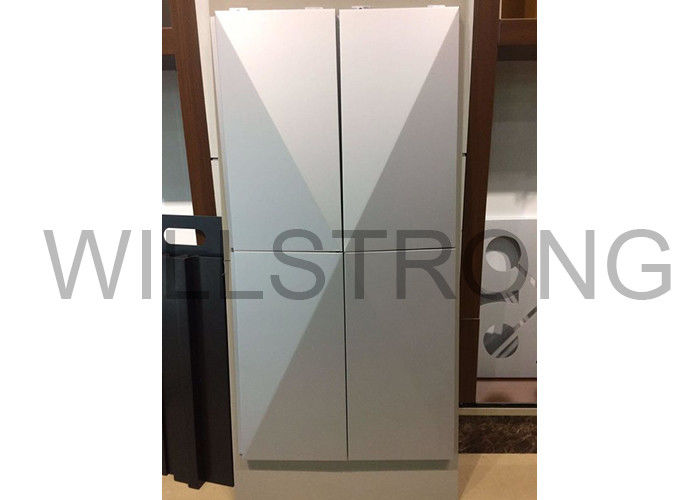 Nano Coating Self - Cleaning Aluminum Composite Metal Panels / 3D Curtain Wall Cladding