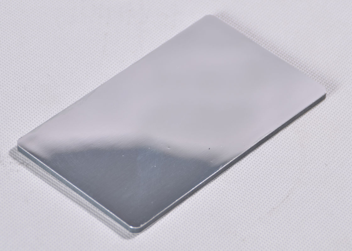 Fireproof  Mirror Aluminum Composite Panel , Exterior Mirror Panels